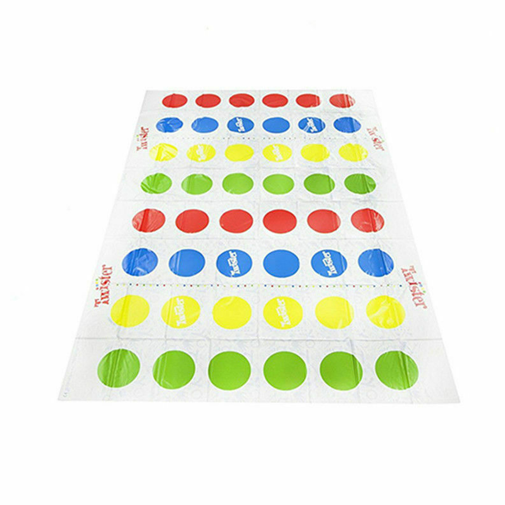 Outdoor Activity Toys Home Body Moves Fun Picnic Play Mat Gift Party Kids Adults Interactive Plastic Colorful Twister Game
