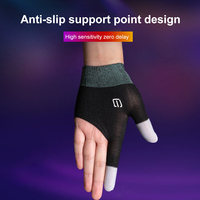 Mobile Phone Gaming Sweat-Proof Finger Cover Fingertip Gloves Game Non-slip Touch Screen Thumb Fingertip Sleeves Game Accessorie