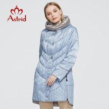 Astrid ceket kış kadın ceket Casual kadın Parkas kadın kapşonlu palto katı ukrayna artı boyutu moda stil en iyi AM-5810
