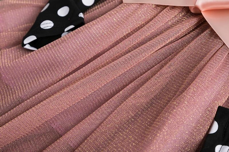 2019 Autumn Winter Girl Dress Long Sleeve Polka Dot Girls Dresses Bow Princess Teenage Casual Dress 2019 Autumn Winter Girl Dress Long Sleeve Polka Dot Girls Dresses Bow Princess Teenage Casual Dress Daily Kids Dresses For Girls