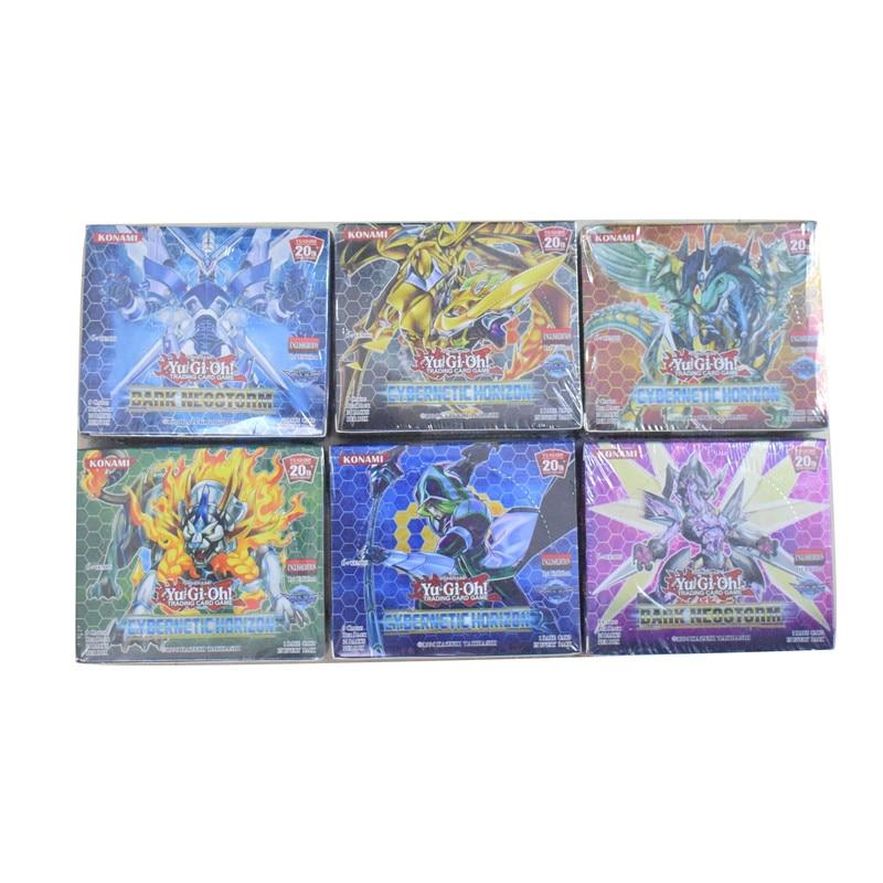 216pcs/set Yugioh Cards Yu Gi Oh English Version Pack Toys Yu-gi-oh Cards