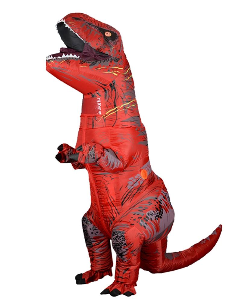 Dino Costume Mascot Cosplay Halloween-T T-Rex-Velociraptor Women T Rex Kid