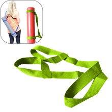 Коврик для йоги, регулируемый ремень, Спортивная с широким ремнем, ремень для переноски, тянущиеся для фитнеса, эластичный пояс для йоги, 1 шт.# N10