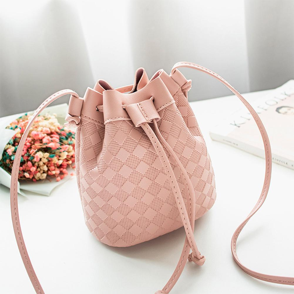 Women Crossbody Bag Female Fashion Satchel Single Shoulder Solid Color Bucket Bag Bags For Women 2019