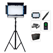 75W Yidoblo A 2200BI LED Video Lighting Panel Ultra Bright Bi Color 2800K 9900K Professional Studio Photography Lighting + bag