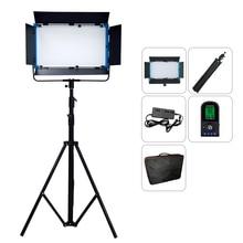 75W Yidoblo A 2200BI LED Video aydınlatma paneli Ultra parlak bi renk 2800K 9900K profesyonel stüdyo fotoğraf aydınlatma + çanta