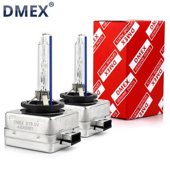 DMEX 1 para (2 sztuk) 35W D1S ksenonowe ukryta żarówka 4300K 5000K 5500K 6000K 8000K ukrył Xenon wymienna lampa D1S ksenonowe żarówki do przednich reflektorów tanie i dobre opinie 12 v 4300K 5000K 5500K 6000K 8000K 3800Lm Headlights