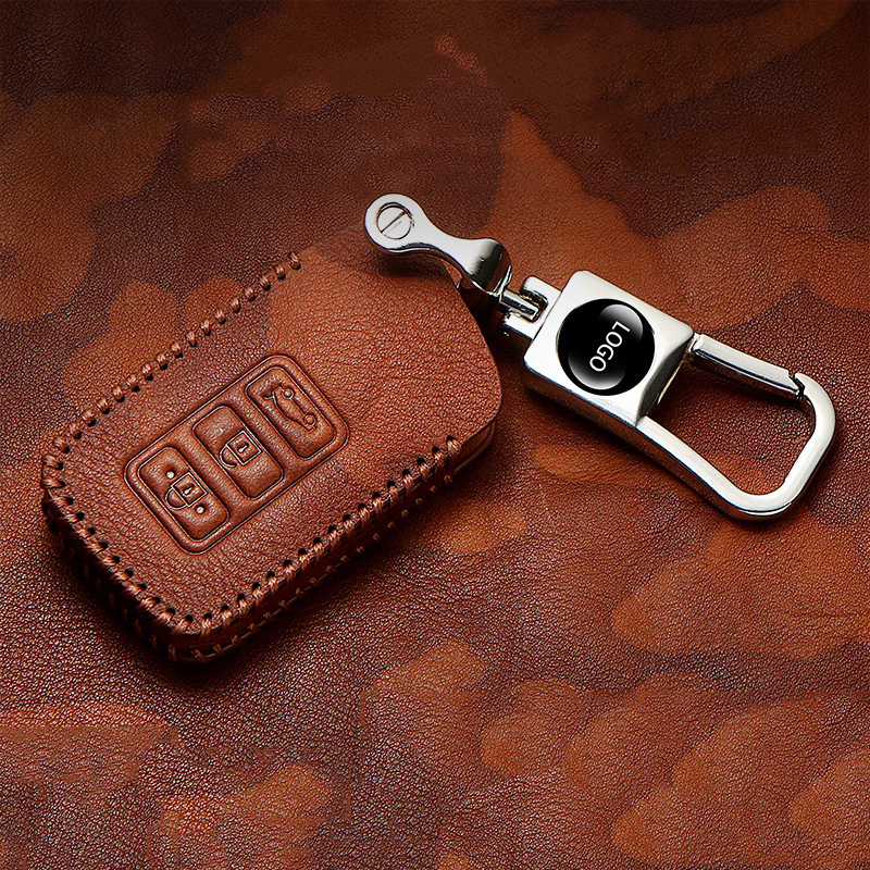 Hight quality Real cowhide key case cover For <font><b>Lexus</b></font> <font><b>rx200t</b></font> is CT GS nx200 ES250 es300h Key case protective shell Accessories image