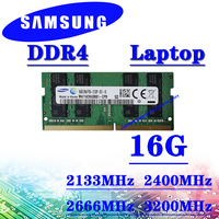 Samsung Laptop memory ddr4 16GB 2133MHz 2400MHz 2666MHz 3200MHz RAM pc4 4GB 8GB 2GB 32GB DDR4 2133P 2400T 2666V 3200AA