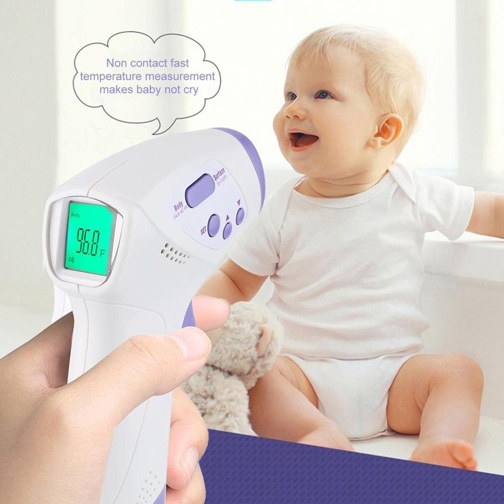 New Thermometer Digital Infrared Baby Forehead And Ear Non-Contact Adult Body Care Fever Measurement Termometro For 2019-nCoV