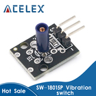 3pin KY-002 SW-18015P Shock Vibration Switch Sensor Module for arduino Diy Kit