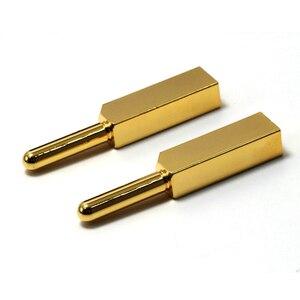 Image 5 - Paar Monosaudio Hi End Zuiver Koper Eu Type Power Connector Schuko Plug Voor Hifi Diy Stroomkabel