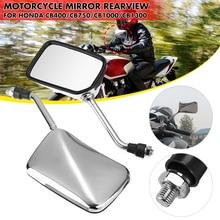 2 stücke Aluminium Legierung Motorrad Hinten Seite Ansicht Rückspiegel Lenker Spiegel Für Honda CB400 CB750 CB1000 CB1300