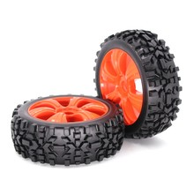 2 stuks Universele RC Auto Banden 1/18 Drift Banden Wiel Hub Velg voor HSP HPI RC on Road Car Hex modificatie Upgrade Accessoires 118MM(China)