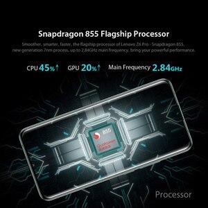 """Image 4 - Oryginalna globalna wersja Lenovo Z6 Pro 8GB 128GB Snapdragon 855 Octa Core 6.39 """"FHD wyświetlacz Smartphone tylne 48MP Quad kamery"""
