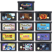Tarjeta de consola de videojuegos de 32 bits para Nintendo GBA Tactics, Ogre, el señor de los Rin, Monste Rancher, Editi en idioma inglés