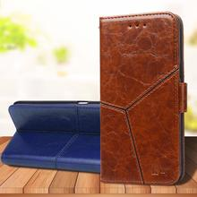 For Apple iPhone 11 Pro XS Max XR X 8 7 6S 6 Plus Luxury Vintage Retro Geometric Splicing Flip Leather Phone Case Stand Cover