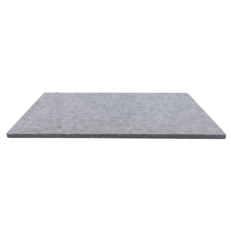 Gray DIY Leather Carving Sound Insulation Pad Noise Reduction Felt Pad Insulation Pad High Density Sound Insulation Pad