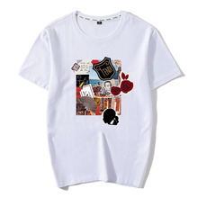 Karl Print Men T-Shirt 100% Cotton Promote a harmonious and vibrant atmosphere Novelty Casual Classic 2019 Summer Tops
