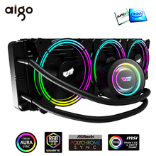 Cooler Radiator Heatsink Thermal-Paste AIO Water-Cooling Pc Rgb for /AM4