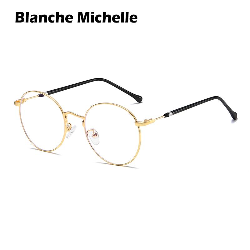BM High Quality Brand Glasses Frame Women Eyeglass Frame Men Anti-blue Light Women's Eyeglasses Frame Customizable Myopia Lenses