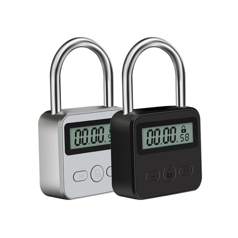 Temporizador de Bondage con cerradura de tiempo Digital, temporizador electrónico de fetiche, BDSM, Juguetes sexuales de restricción para parejas, accesorios para adultos