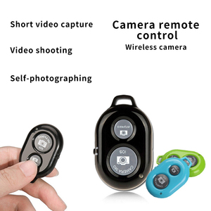 Image 2 - 무선 셔터 원격 제어 전화 셀프 타이머 버튼 셔터 Selfie 릴리스 버튼 컨트롤러 어댑터 사진 안드로이드 IOS