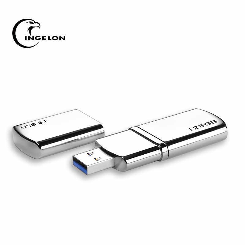 USB dysk półprzewodnikowy 512GB256GB128GB Phison układu Cle USB 3.1 do 350 mb/s metalowe MTV DJ DIY Pendrive Freeship dropship USB SSD