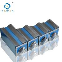 Interruptor de Base de mesa magnética 6T 8T 10T 12T V tipo de potencia Base magnética Dial soporte de indicador Base imán asiento Mesa corte de alambre