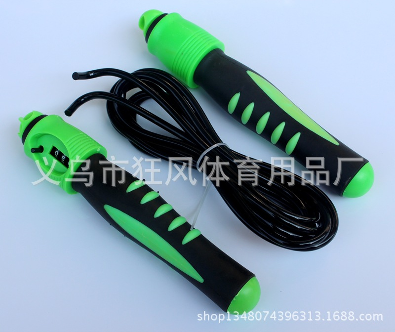 Plastic Handle Automatic Counting Jump Rope Skipping With Bearings The Academic Test For The Junior High School Students Jump Ro