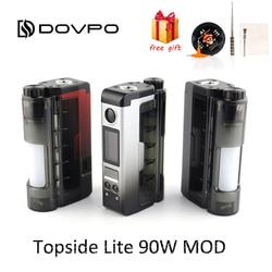 Оригинал DOVPO Topside Lite 90 Вт мод Питание от одной 21700/20700 батареи электронная сигарета 510 нить атомайзер vape коробка мод