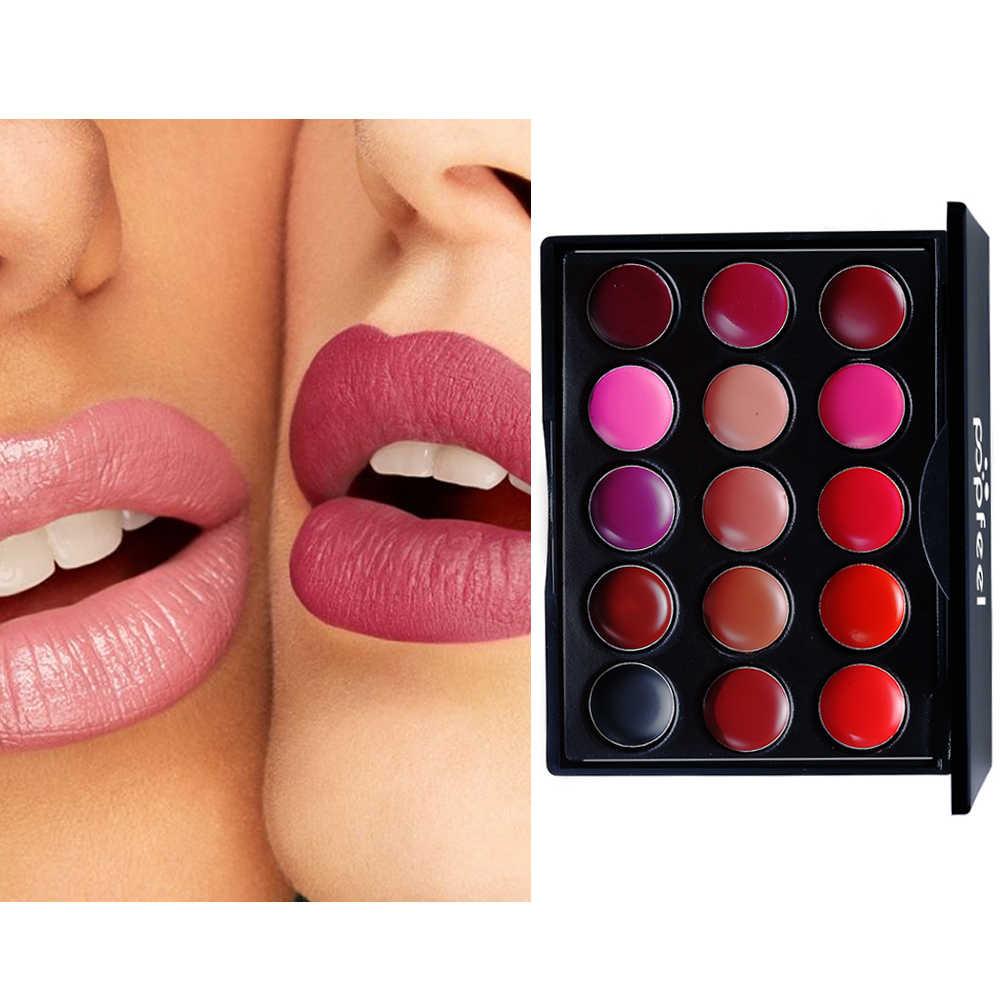 Подлинная блеск для губ образец 15 цветов Новый стойкий макияж телесного цвета хит продаж водонепроницаемый антипригарный цвет чашка косметика для губ помада