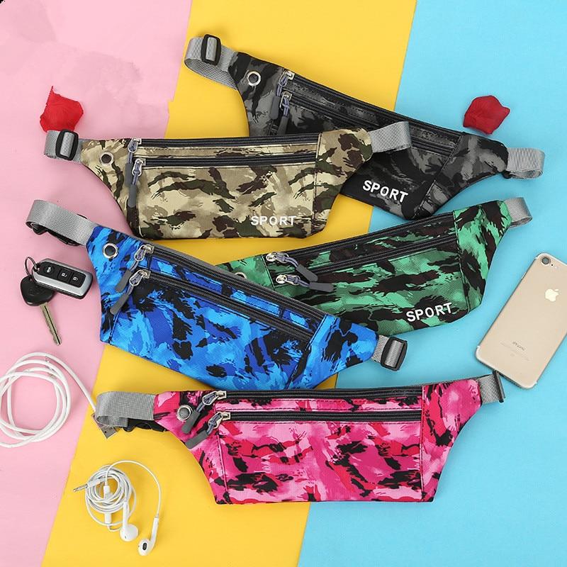 Running Waist Bag   Pouch Sport Pack Cycling Bag Belt Outdoor Travel Racing Hiking Gym Fitness Money Purse Men Women