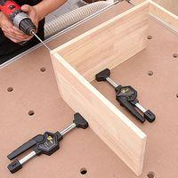 목공 코너 클램프 클립 프레임 fenceclamps 목수 테이블 빠른 고정 클램프 d5bd|목공기계 부품|   -