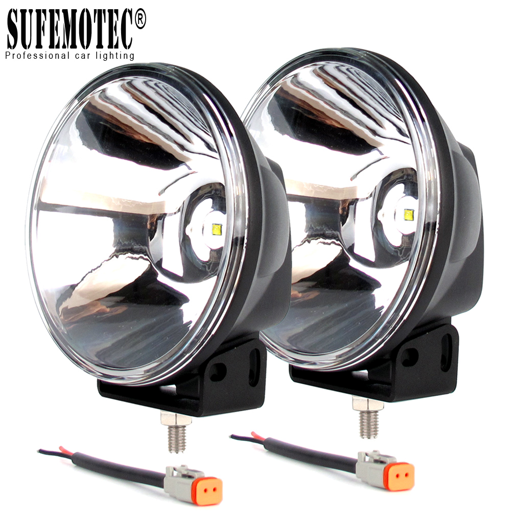 7 Inch 45W Round Led Work Light 12V 24V For Car ATV SUV 4WD Uaz Boat Trucks Tractor 4x4 Offroad Headlight Led Driving Spotlights