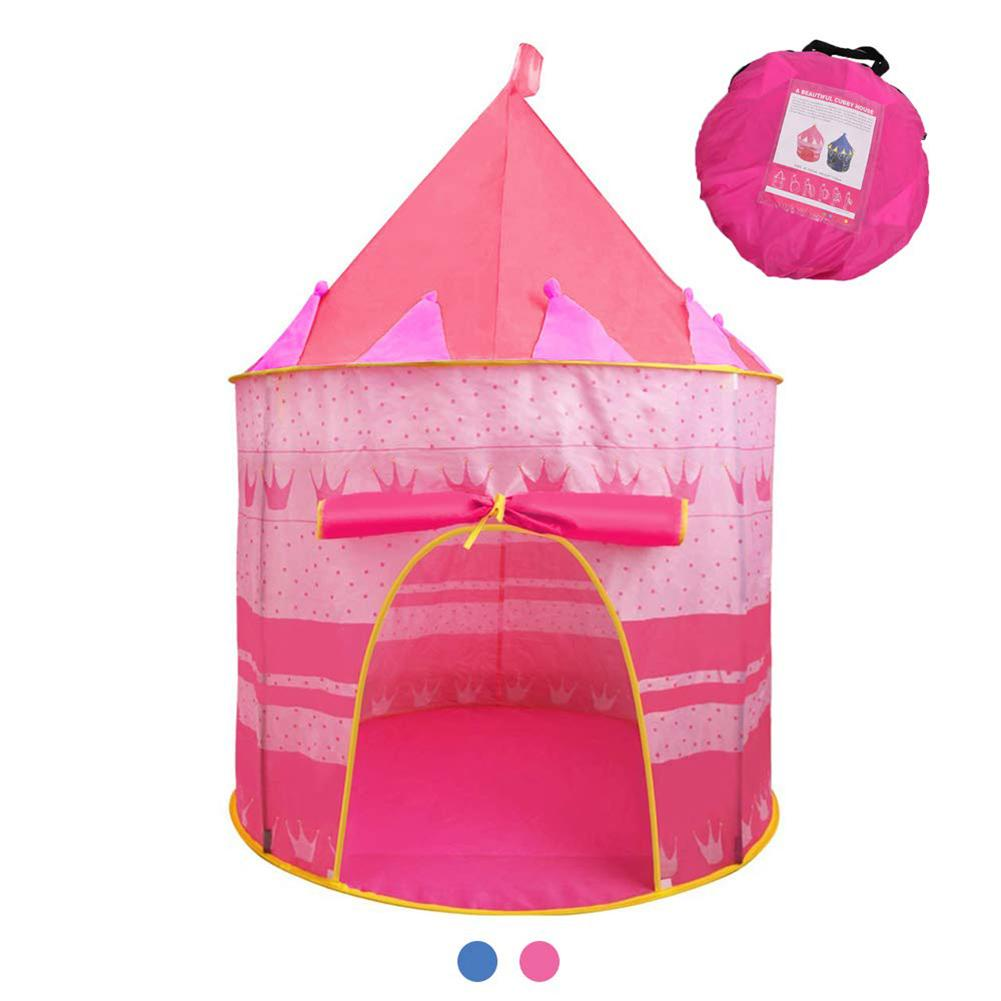Kids Play Tent Portable Foldable Children Kids Game Play Tent Indoor Yurt Castle Playhouse Toy