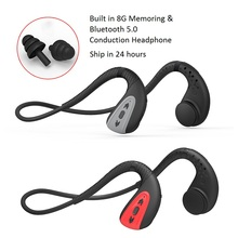 Newest 8G Bone Conduction Bluetooth 5.0 Headset Stereo IPX 8