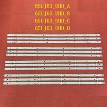 12 Pièces/ensemble LED bande de rétro éclairage pour LG 65UJ6300 65UJ630V 65UJ634V 65UJ5500 65UK6100 Innotek 17Y 65inch_A SPC 65UJ63_UHD_A B C D