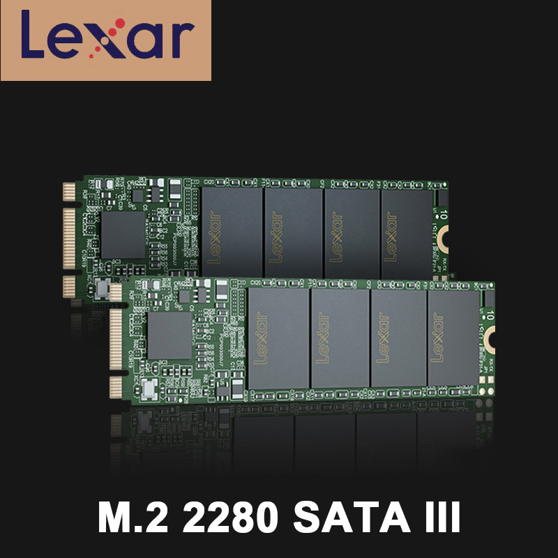 Lexar <font><b>SSD</b></font> <font><b>M2</b></font> <font><b>SATA</b></font> <font><b>3</b></font> HDD NM100 M.2 <font><b>2280</b></font> <font><b>SATA</b></font> III Solid Driver 128GB 256GB Up To 550MB/s Read For Laptop Desktop Notebook Dropship image