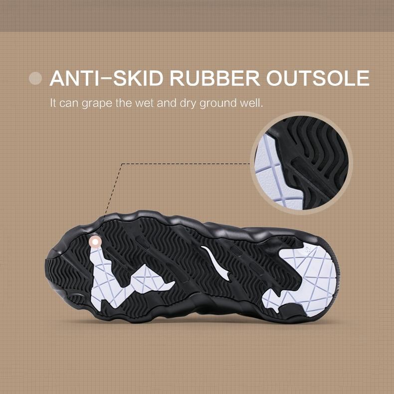 ONEMIX Walkiing Schuhe für Männer Casual High Top Socke Schuhe Original Persönlichkeit Frauen Gladiator Sandalen Outdoor Trekking Turnschuhe - 5