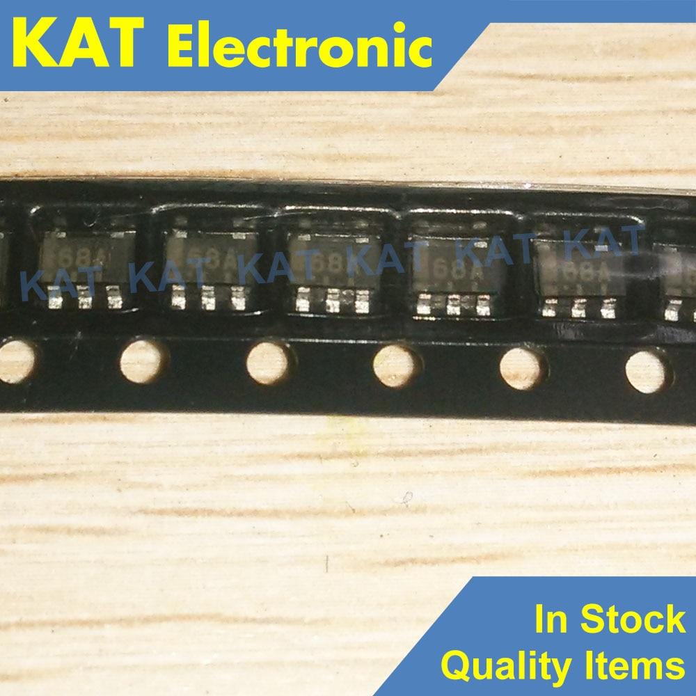 5PCS/Lot LMH6645MFX Marking Code 68A A68A SOT-23(5) Output Amplifiers With Shutdown Option