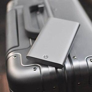 Image 4 - Nowy uchwyt na karty MIIIW ze stali nierdzewnej srebrny aluminiowy etui na karty kredytowe damskie męskie etui na dowód karty etui kieszonkowe