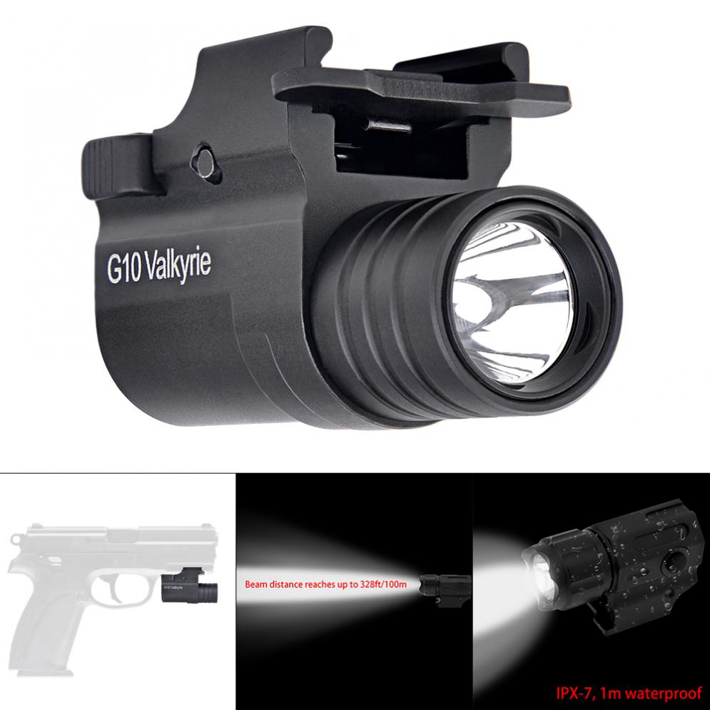 600LM 2 Mode  XP-G2 LED Handheld Military Weapon Lights Pistol Torch Light Tactical Flashlight For Hunting Lighting