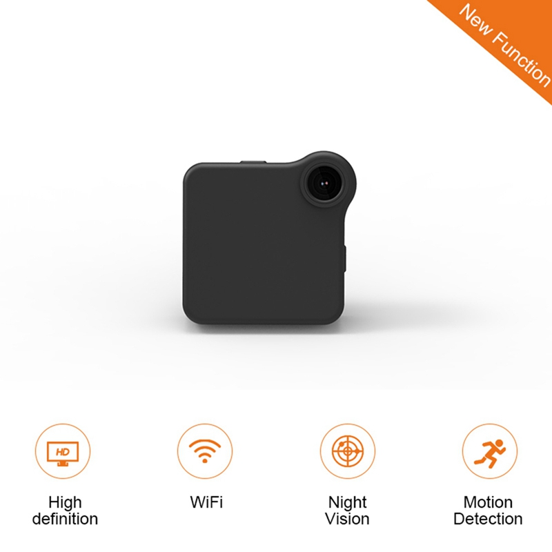 C1 + Tragbare Motion Kompakte Kamera Wireless Smart Überwachung Micro Kamera Smart Verschleiß Bewegungserkennung Micro Kamera WiFi Mini HD