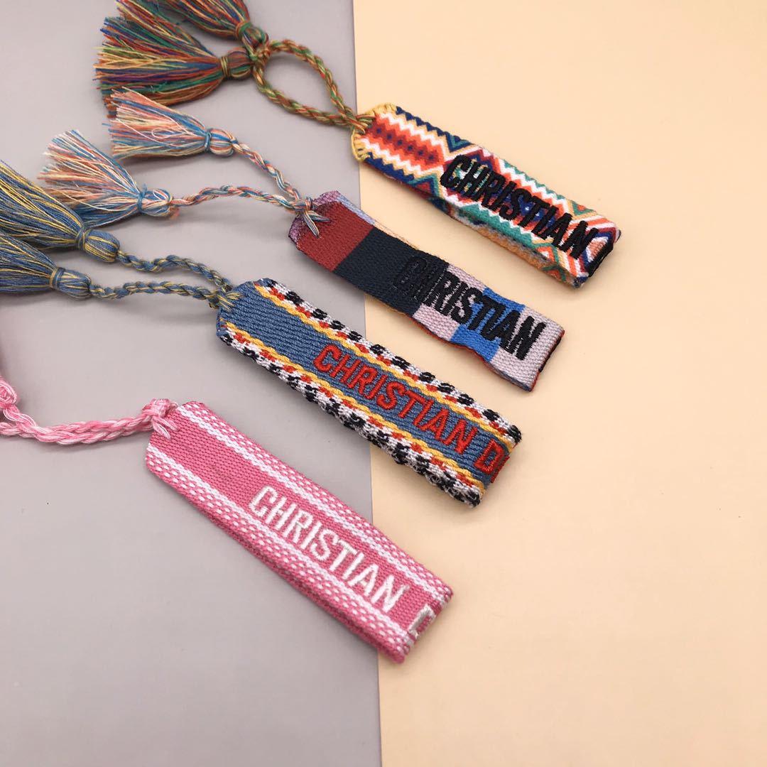 Плетеный браслет дружбы для женщин, плетеный браслет с кисточками, браслеты ручной работы с вышивкой для пар, подарки, Винтажные Украшения, ...