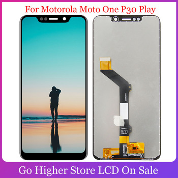 Original For Motorola Moto One P30 Play Lcd Display Touch Screen Panel Assembly XT1941-1 XT1941-3 XT1941-4 LCD Display image