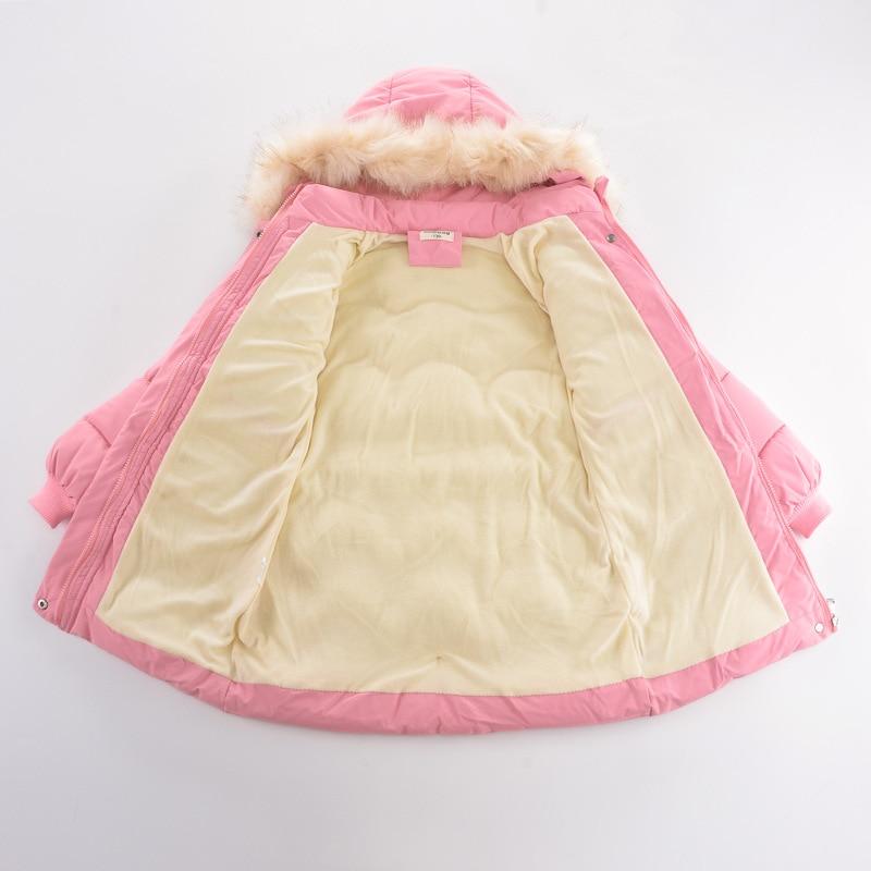 jaqueta de comprimento medio grossa para meninas 05