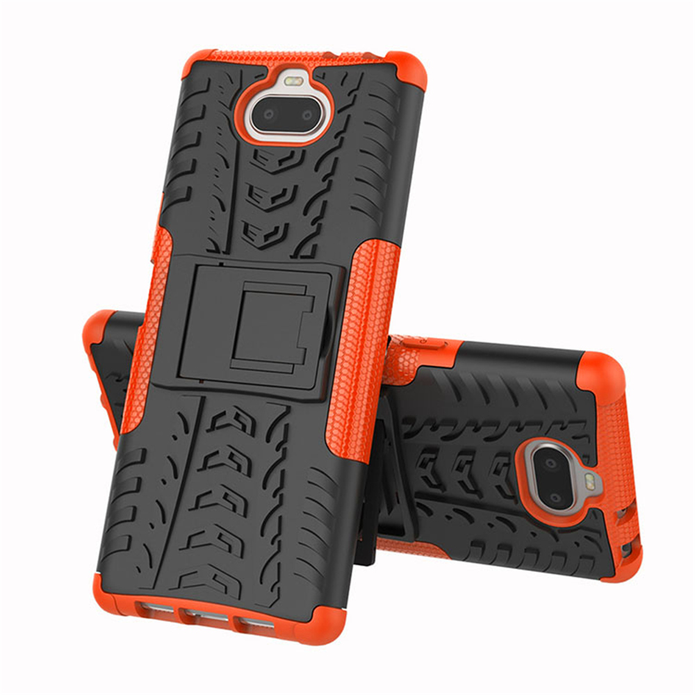 Brand New For <font><b>Sony</b></font> <font><b>Xperia10</b></font> Armor Phone <font><b>Case</b></font> Protective Cover Anti-scratch Mobile Phones Shockproof Protection image