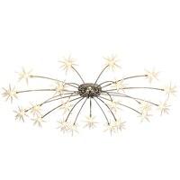 Новое поступление 2019, современный светодиодный подвесной светильник со снежинками, прозрачный абажур 28, лампа G4, светодиодный светильник, к