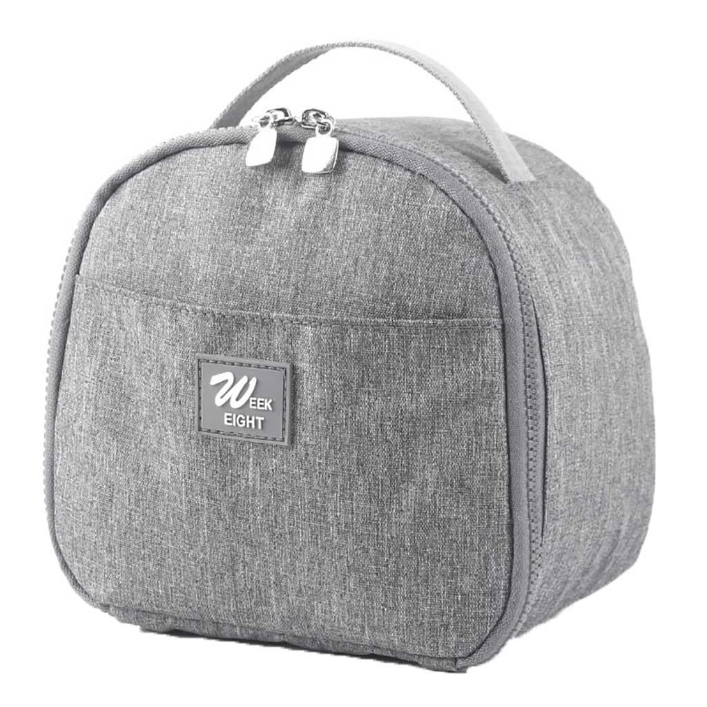 2019 Lunch Bag New Picnic Portable Thermal Lunch Bag Functional Insulated Cooler Canvas Lunch Food Box Bags For Women Kids